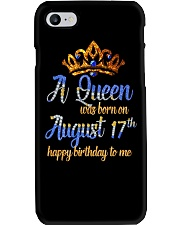 AUGUST QUEEN Phone Case tile