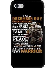 December Man Phone Case thumbnail