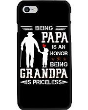 Best printing graphic tee shirt design for grandpa Phone Case thumbnail