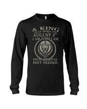 AUGUST KING 3 Long Sleeve Tee thumbnail