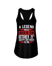 25th October Legend Ladies Flowy Tank thumbnail
