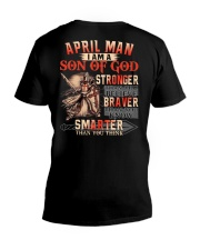 H- April T shirt Printing Birthday shirts for Men V-Neck T-Shirt thumbnail