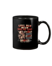 H- April T shirt Printing Birthday shirts for Men Mug thumbnail