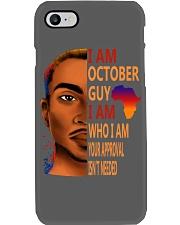 I Am October Guy I Am Who I Am Phone Case thumbnail