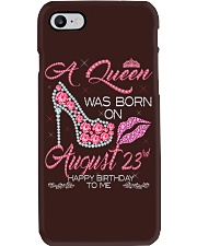AUGUST 23 Phone Case tile