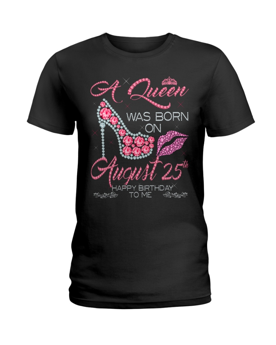 25th Agust Ladies T-Shirt