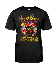 H- AUGUST QUEEN Classic T-Shirt front