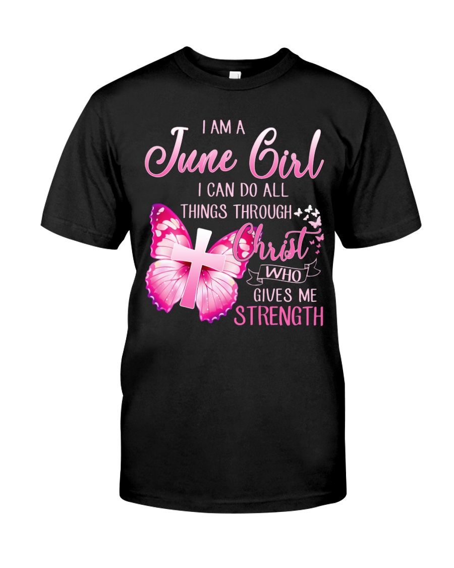 H- JUNE GIRL Classic T-Shirt