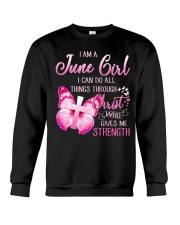 H- JUNE GIRL Crewneck Sweatshirt thumbnail