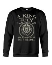 H- JULY KING Crewneck Sweatshirt thumbnail