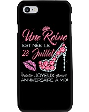 28 Juillet Phone Case tile