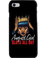 AUGUST GIRL - SLAYS ALL DAY Phone Case thumbnail