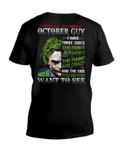OCTOBER GUY V-Neck T-Shirt thumbnail