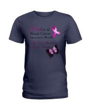 cancer-october Ladies T-Shirt thumbnail