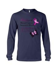 cancer-october Long Sleeve Tee thumbnail