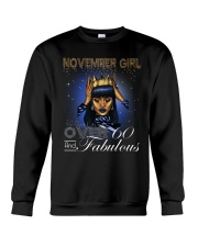 November Girl Crewneck Sweatshirt thumbnail