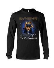 November Girl Long Sleeve Tee thumbnail