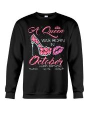 H- OCTOBER GIRL  Crewneck Sweatshirt thumbnail