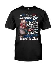 December shirt Printing Birthday shirts for Women Classic T-Shirt thumbnail