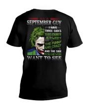 SEPTEMBER GUY V-Neck T-Shirt thumbnail