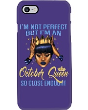 I'm Not Perfect But I'm An October Queen Phone Case thumbnail