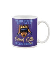 I'm Not Perfect But I'm An October Queen Mug thumbnail
