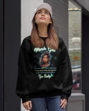 MARCH GIRL Crewneck Sweatshirt lifestyle-unisex-sweatshirt-front-1