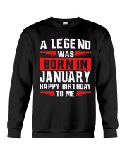 JANUARY MAN Crewneck Sweatshirt thumbnail