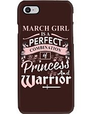MARCH GIRL Phone Case thumbnail