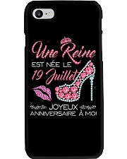 19 Juillet Phone Case tile