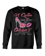 OCTOBER 3RD Crewneck Sweatshirt thumbnail