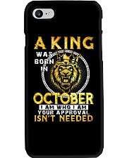 H- OCTOBER KING Phone Case thumbnail