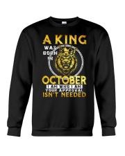 H- OCTOBER KING Crewneck Sweatshirt thumbnail