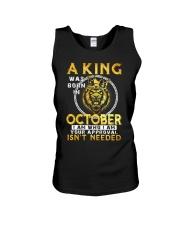 H- OCTOBER KING Unisex Tank thumbnail