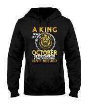 H- OCTOBER KING Hooded Sweatshirt thumbnail