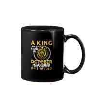 H- OCTOBER KING Mug thumbnail
