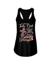 H- JULY GIRL Ladies Flowy Tank thumbnail