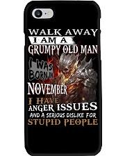 H- GRUMPY OLD MAN M11 Phone Case thumbnail