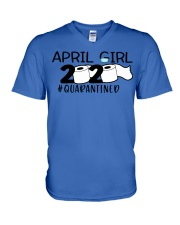 H- APRIL GIRL V-Neck T-Shirt thumbnail