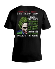 JANUARY GUY V-Neck T-Shirt thumbnail