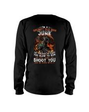 H-Grumpy old man June tee Cool T shirts for Men Long Sleeve Tee thumbnail