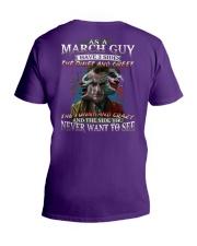 H- MARCH GUY V-Neck T-Shirt thumbnail