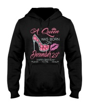 DECEMBER QUEEN 29th Hooded Sweatshirt thumbnail