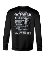H- OCTOBER MAN Crewneck Sweatshirt thumbnail