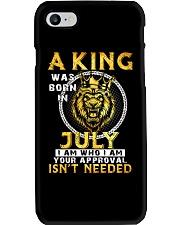 H- JULY KING Phone Case thumbnail
