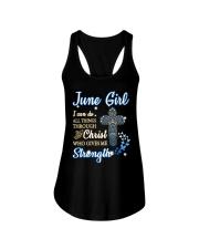 H- JUNE GIRL Ladies Flowy Tank thumbnail