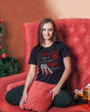 OCTOBER GIRL Ladies T-Shirt lifestyle-holiday-womenscrewneck-front-2