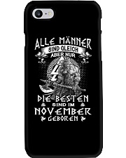MAN NOVEMBER Phone Case thumbnail