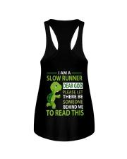 H- SLOW RUNNER Ladies Flowy Tank thumbnail