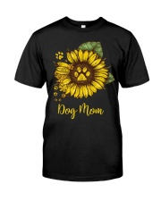 H- Dog Mom Tshirt Classic T-Shirt front